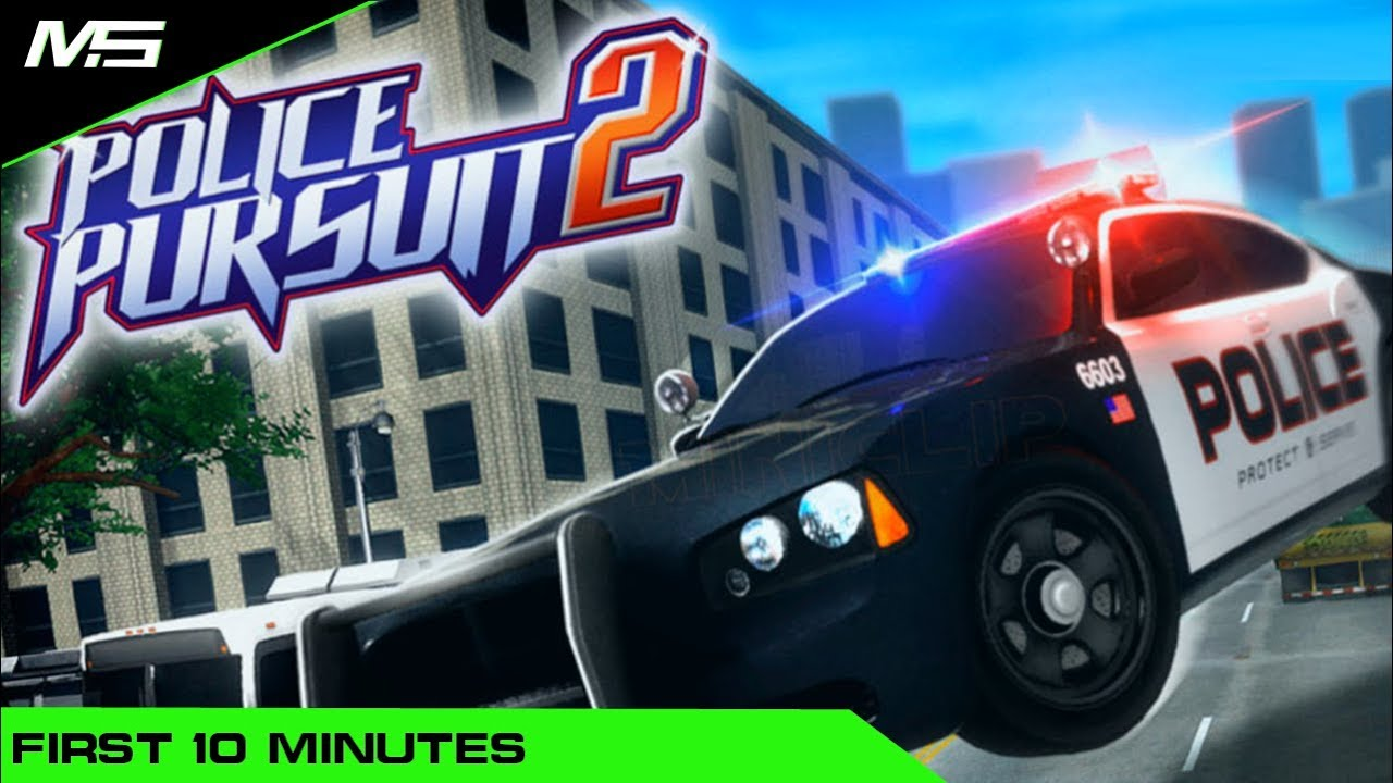 Police Pursuit 2 - First 10 minutes of gameplay