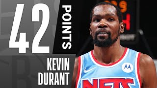 KD Pours In Season-High 4️⃣2️⃣ PTS In Nets W 🔥