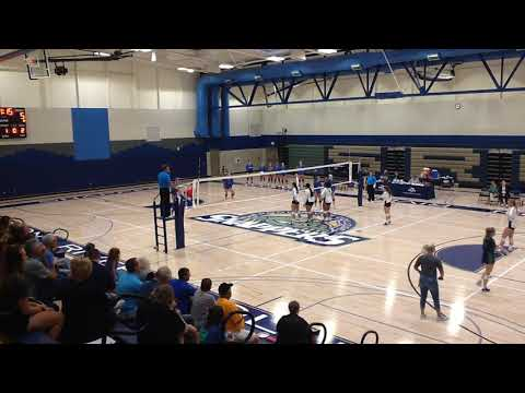 2019 SWIC Volleyball Vs Spoon River College 27 Aug Sets 4 and 5
