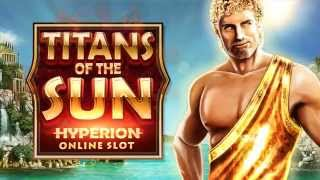 Titans of the Sun Hyperion online slot game [Wild Jackpots](Recreate ancient legends at the Wild Jackpots online casino with the Titans of the Sun Hyperion and Theia slots. Join the mighty Titans, Hyperion and Theia, ..., 2015-09-29T07:35:09.000Z)