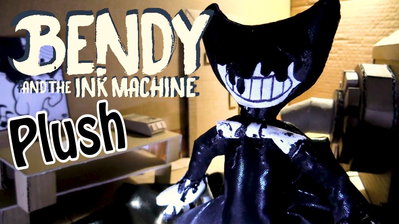 Bendy Face And Bendy Ink Ink Machine
