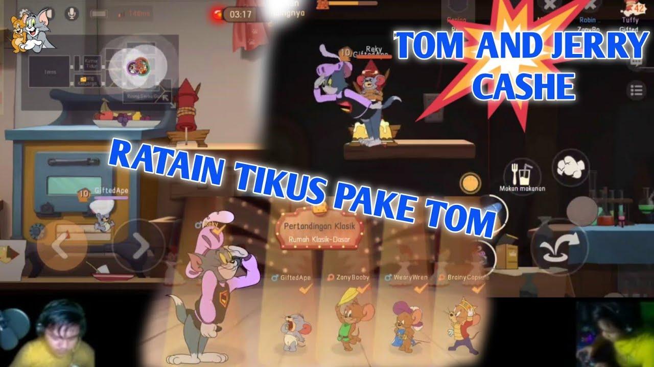TOM AND JERRY CHASE ID | NOSTALGIA | RATAIN TIKUS PAKE TOM