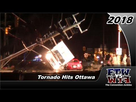 Tornadoes Tear Through Ottawa Destroying Homes, Trees & Power Grid