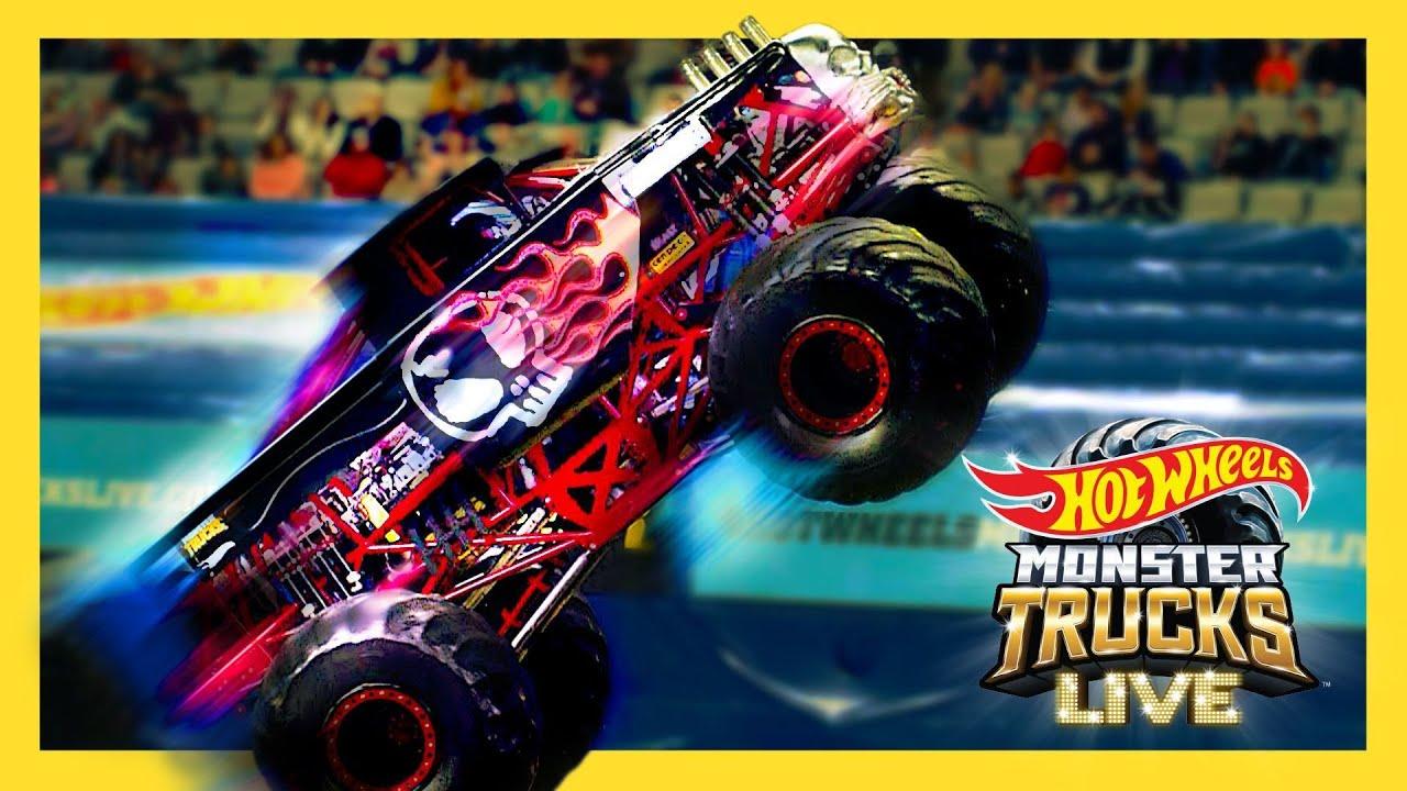 MEET THE REAL LIFE BONE SHAKER! 💀 | Monster Trucks LIVE |@Hot Wheels