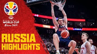 Russia | Top Plays & Highlights | FIBA Basketball World Cup 2019