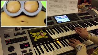 HAPPY - Pharrell Williams (Despicable Me 2) : Yamaha Electone ELS-02C