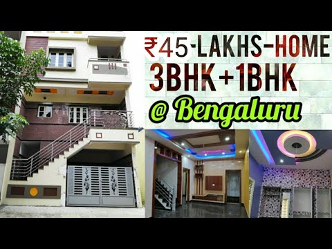 Build 20x30 Independent Home For 45 Lakhs In Bangalore Premium Construction