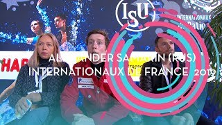 Alexander Samarin RUS Men Free Skating Internationaux de France 2019 GPFigure