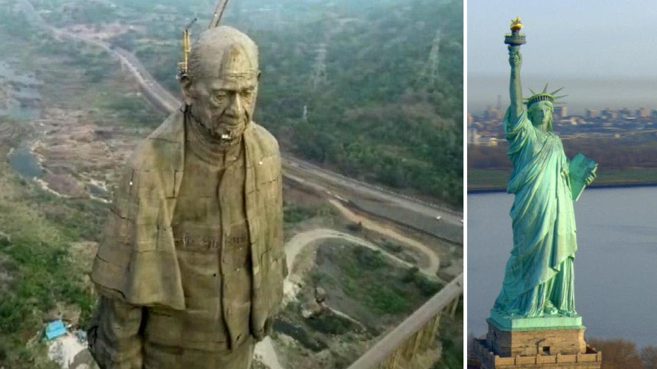 Worlds Largest Statue Of Woman With >> The New Tallest Statue In The World Is Twice The Size Of The Statue