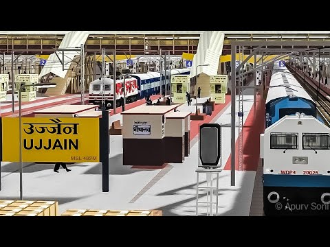 MSTS / OR 22944 Indore Pune Express Full journey Compilation Part 2