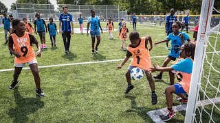 Montreal Impact gives back with new sports field