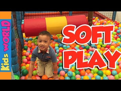 Soft Play | Dubai Outlet Mall | Charlie and Angelo | Kids WORLD