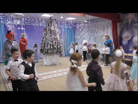Игротанец «Новогодний паровоз». Ведущая - Перышкова Наталья. Мы танцуем, мы играем.