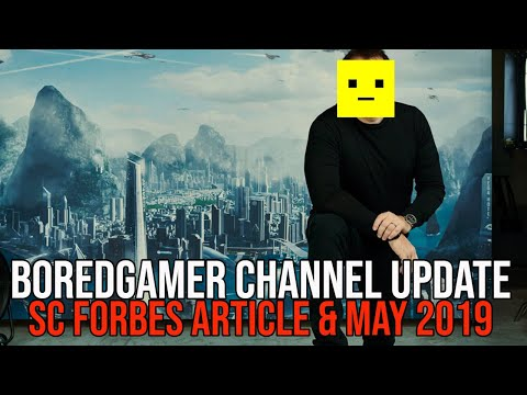 Star Citizen Forbes Article, Valve Index VR - BoredGamer May 2019 Channel Update