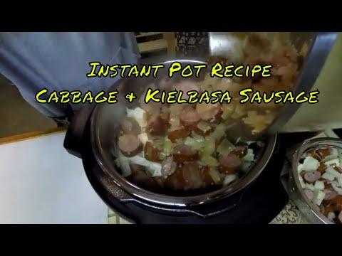 Instant Pot Recipe | Cabbage & Kielbasa Sausage