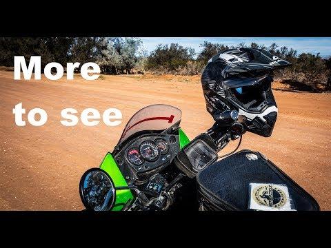 Kawasaki KLR 650 Around Australia  - Wilcannia, Minindee And Pooncarie (Ep 13)