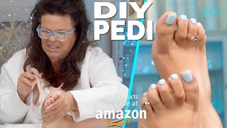 Diy Salon Quality Pedicure 👣 At Home Using Products From Amazon