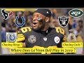 2019 Fantasy Football - Where Does Le'Veon Bell Play in 2019 ?