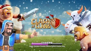COC New Update | New Siege Machine, New Spell, New Magical Items - Winter Update Clash of Clans