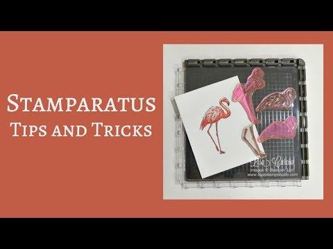 Quick Crafting Tip – Stamparatus Tips & Tricks
