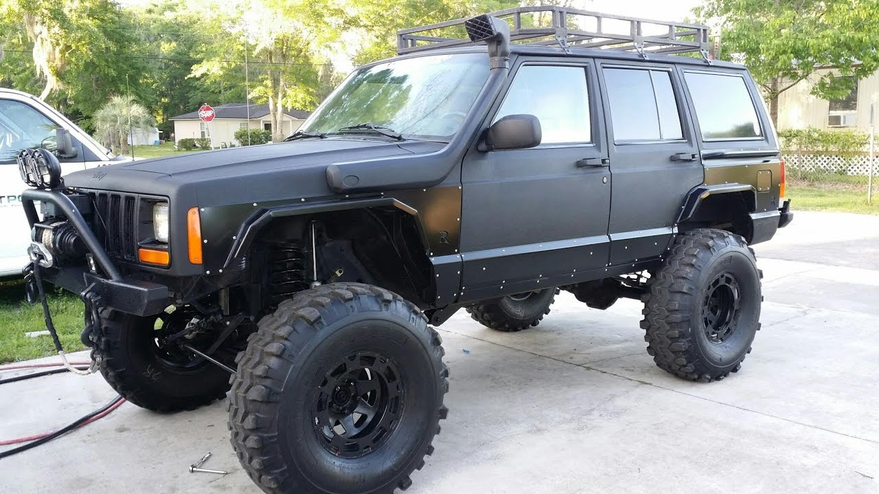 Jeep Xj On 36s Off Road Basic Checks And Tips For A