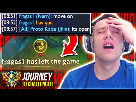 IS THIS WHAT LEAGUE HAS BECOME?????? LOL - Journey To Challenger  League of Legends