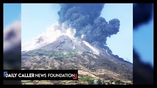 Stromboli Volcano Erupts For The Second Time This Summer
