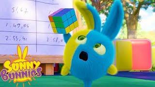 Sunny Bunnies | SUNNY BUNNIES - 루빅스 큐브 | 어린이를위한 재미있는 만화 | WildBrain