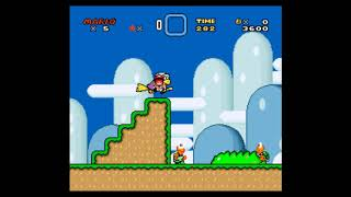 Super Mario World Rom Hack - Super Mario World 3 - Mario saves the Yoshis