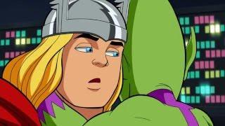 Отряд супергероев - Совершенно невозможный человек! - Сезон 2 Серия 24 | Marvel