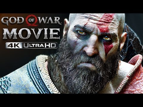 God of War 4 | 4K Movie, ULTIMATE CUT (All Cutscenes, Story & Bosses) (GoW 2018)