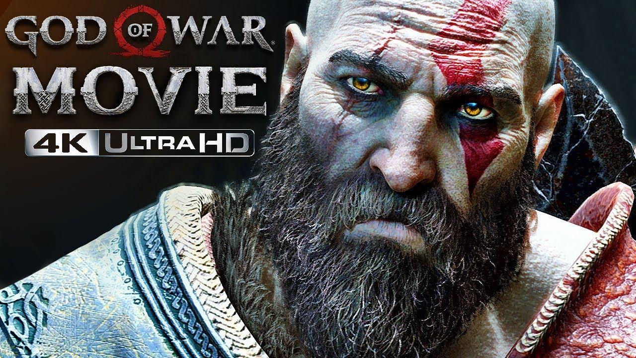 Download God of War 4   4K Movie, ULTIMATE CUT (All Cutscenes, Story & Bosses) (GoW 2018)