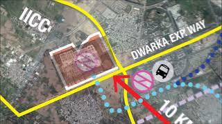 India International Convention & Expo Centre (IICC), Dwarka Walkthrough (English)