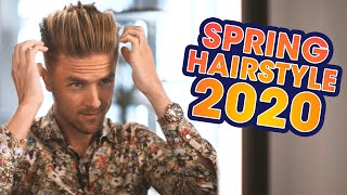 Voluminous Quiff Undercut - Men's Spring Hairstyle 2020