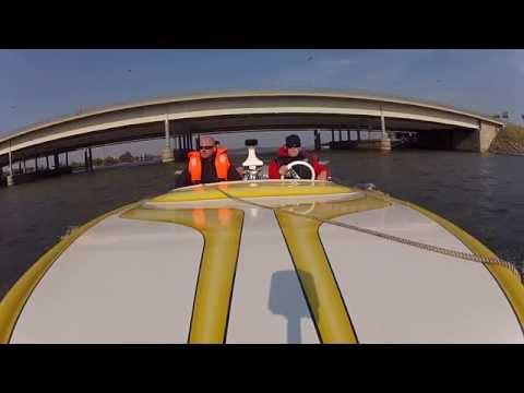 Bee-One Ski Boat cruising 2014 in Helsinki