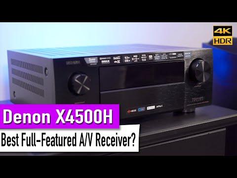 Denon X4500H A/V Receiver | Unboxing & Overview + GIVEAWAY details! [4K HDR]