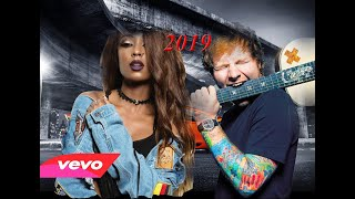 Ed Sheeran shape of you remix ft Vanessa Mdee & Gnako