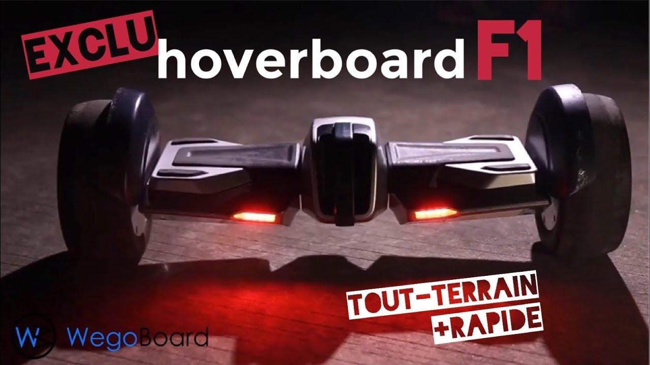 hoverboard formule1 f1 by wegoboard youtube