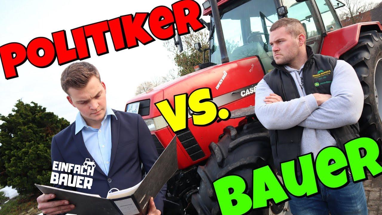 Insektenschutzgesetz Bauer vs Politiker