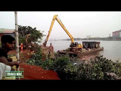 ঢাকার কদমতলী শ্যামপুরে চলছে উচ্ছেদ অভিযান | News BIWTA | River Buriganga | Dhaka Bangladesh