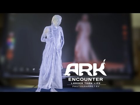 Photogrammetry: Designers Use 76 Cameras for 3D Scanning for Ark Dioramas