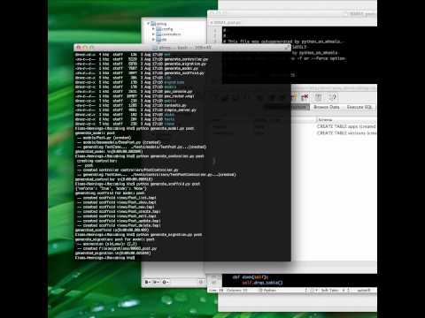 PoW Screencasts #2: A Weblog in 10 Minutes with PythonOnWheels