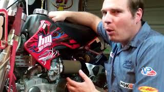 Idle mixture adjustment (air OR fuel screw adjustment) Carburetor