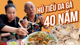 Chicken skin noodle soup eatery without a single slow day in 40 years