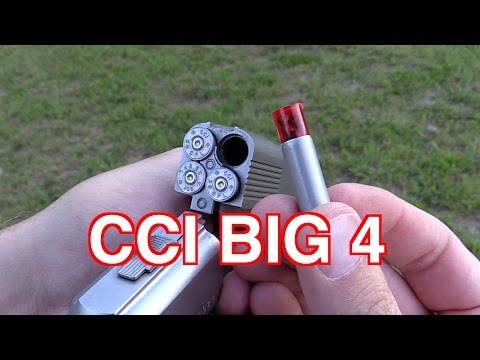 Cci BIG 4 .357 Shotshell Review