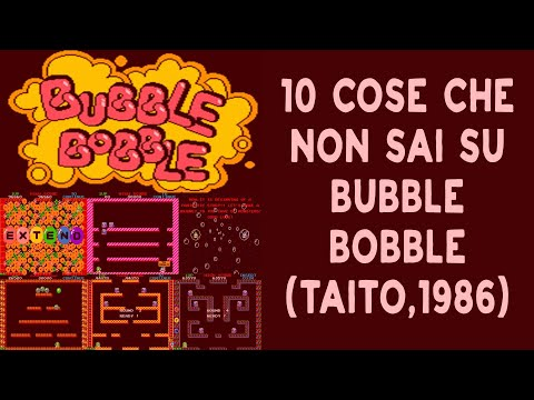 10 COSE CHE NON SAI SU BUBBLE BOBBLE ARCADE | SUBS ENG - ITA | THE 80s DATABASE