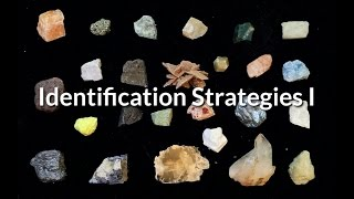 M11-Strategies for Mineral Identification - Part I