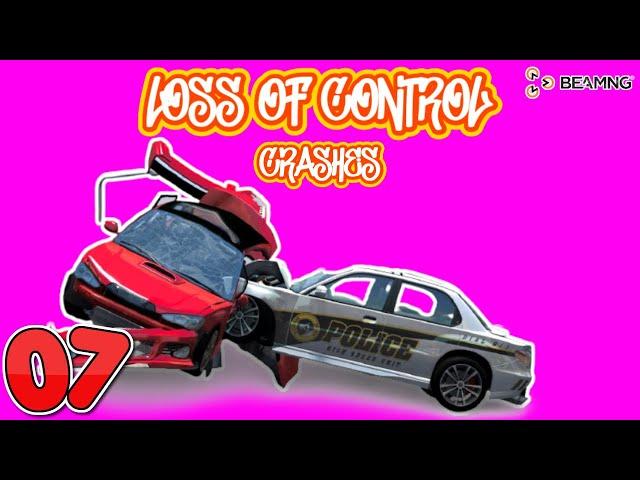 BEAMNG DRIVE #SHORTS | LOSS OF CONTROL CRASHES #7