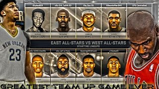 NBA 2K15 cKz All Star Team Up #1 X Greatest Team Up Game Ever