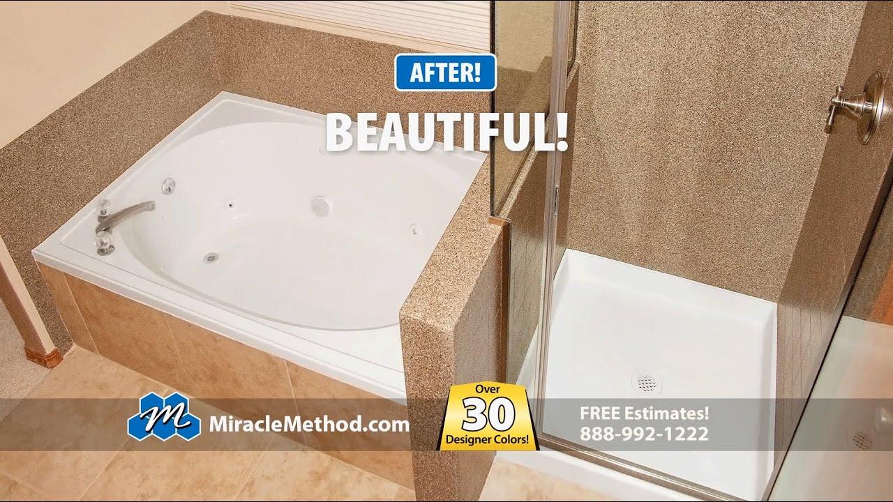 Bathtub Refinishing Conroe Tx.Ceramic Tile Refinishing Refinish Tile Miracle Method